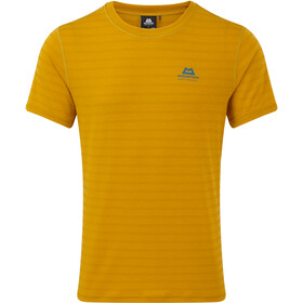 Mountain Equipment Groundup T-shirt Heren, acid stripe
